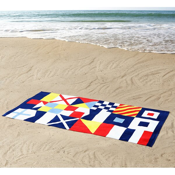 100% Cotton Beach Towel by Seedling by ThomasPaul